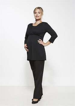 Biz Ladies Maternity Pant 10100