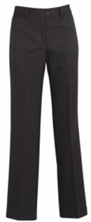 BC Ladies Cool Stretch Pinstripe Relaxed Fit Pants 10211 4
