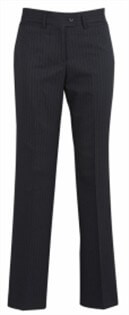 BC Ladies Cool Stretch Pinstripe Relaxed Fit Pants 10211 3