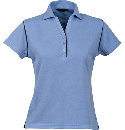 Stencil Bio-Weave Ladies Polo 1034 6
