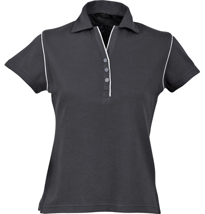 Stencil Bio-Weave Ladies Polo 1034 8