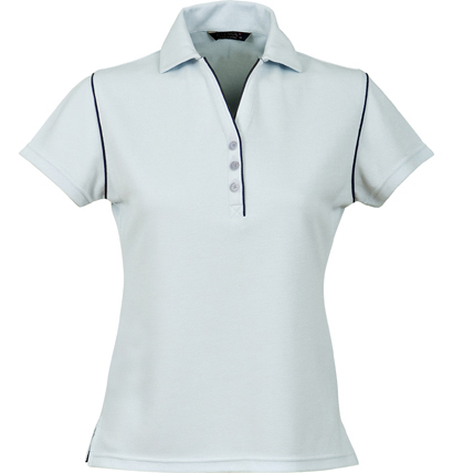Stencil Bio-Weave Ladies Polo 1034 5