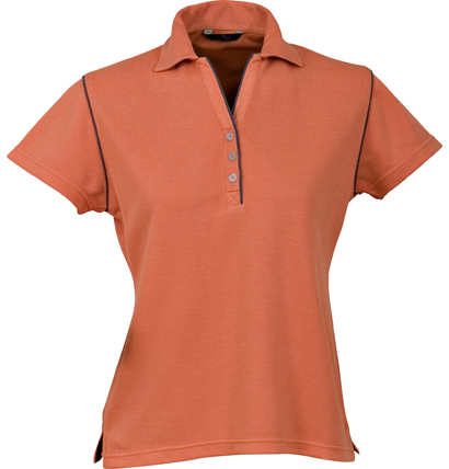 Stencil Bio-Weave Ladies Polo 1034 3