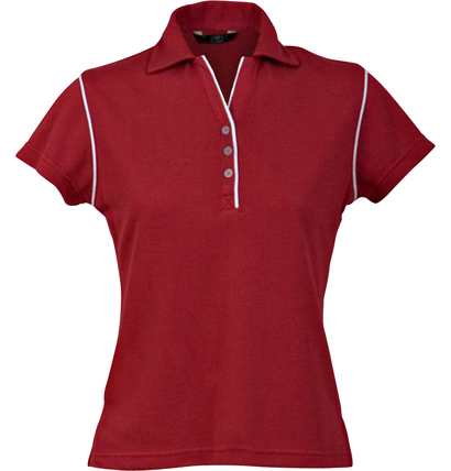 Stencil Bio-Weave Ladies Polo 1034 4