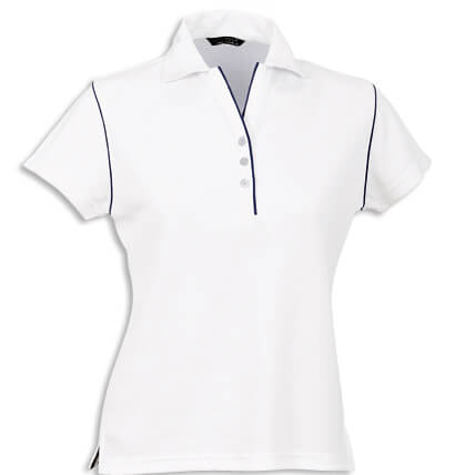 Stencil Bio-Weave Ladies Polo 1034 2
