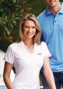 Stencil Cool Dry Ladies Polo 1110B