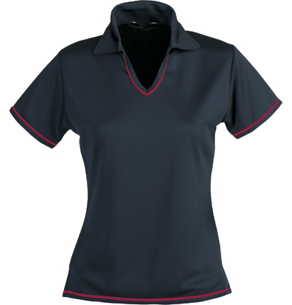 Stencil Cool Dry Ladies Polo 1110B 10