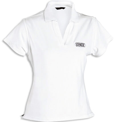 Stencil Solar-Lite Ladies Polo 1130 2