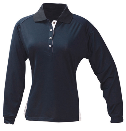 Stencil Team Long Sleeved Ladies Polo 1142