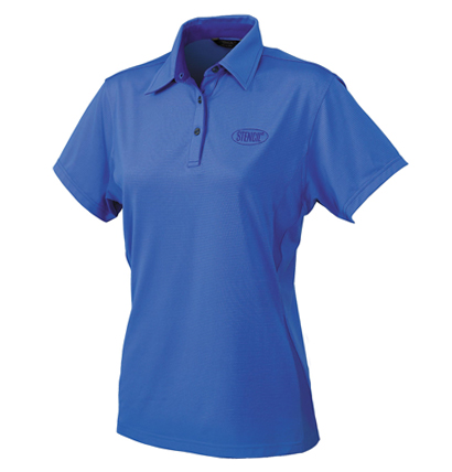 Stencil Silvertech Ladies Polo 1158 5