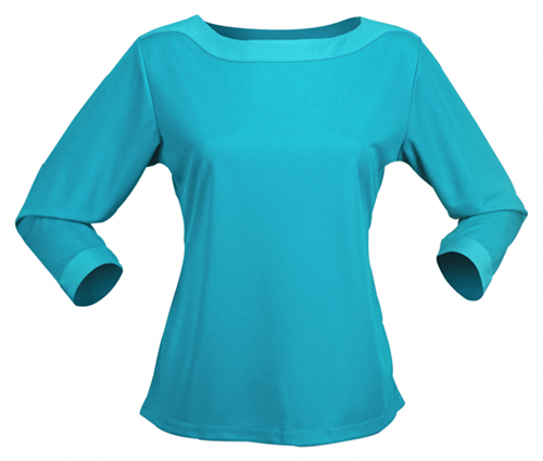 Stencil Argent Ladies 3/4 Sleeved Top 1259Q 4
