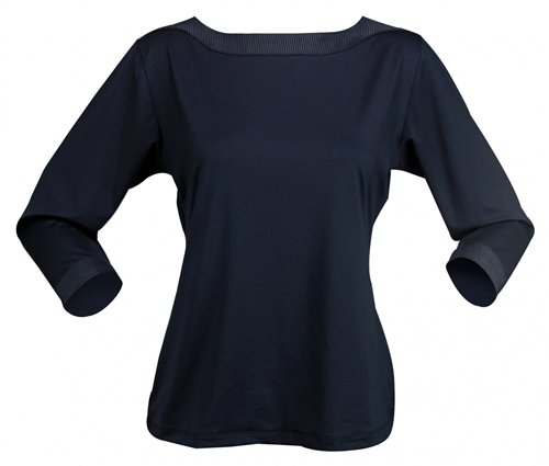 Stencil Argent Ladies 3/4 Sleeved Top 1259Q 2