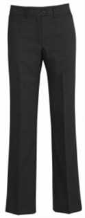 BC Ladies Wool Stretch Relaxed Fit Pants 14011 4