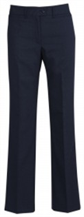 BC Ladies Wool Stretch Relaxed Fit Pants 14011 3
