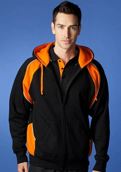 AP Panorama Mens Zip Through Hoodie 1511