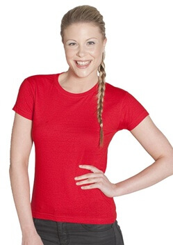 JB Ladies Fitted Tee 1LHT 1