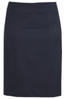 BC Ladies Cool Stretch Plain Bandless Skirt 20112 3