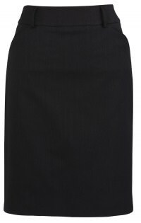 BC Ladies Cool Stretch Plain Multi Pleat Skirt 20115 2