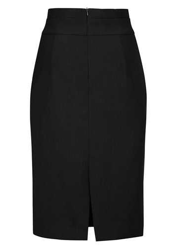 BC Ladies Cool Stretch Plain Waisted Pencil Skirt 20116 5