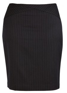 BC Ladies Cool Stretch Pinstripe Chevron Skirt 20214 4
