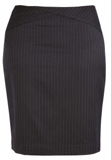 BC Ladies Cool Stretch Pinstripe Chevron Skirt 20214 2