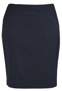 BC Ladies Cool Stretch Pinstripe Chevron Skirt 20214 3