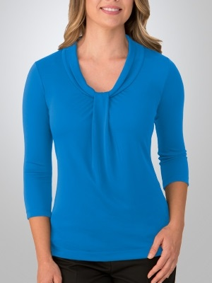 CC Pippa Ladies 3/4 Sleeve Knit Top 2221 2