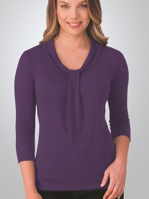 CC Pippa Ladies 3/4 Sleeve Knit Top 2221 5