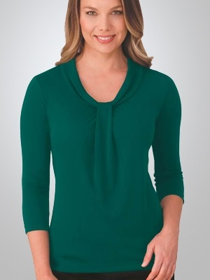 CC Pippa Ladies 3/4 Sleeve Knit Top 2221 7