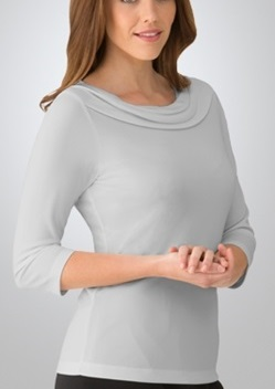 CC Eva Ladies 3/4 Sleeve Knit Top 2226 1