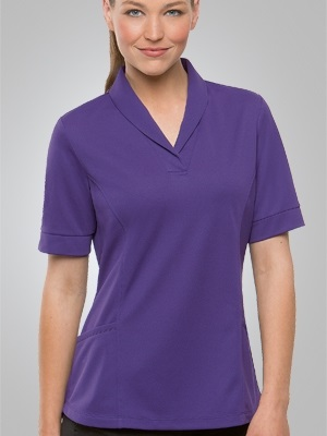 CC City Health Active Ladies Short Sleeve Tunic 2230SS 4