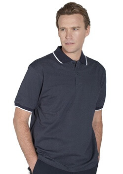 JB Nail Head Adults Polo 2PNH 1