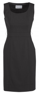 BC Ladies Wool Stretch Sleeveless Side Zip Dress 34011 4