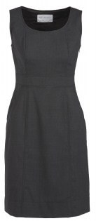 BC Ladies Wool Stretch Sleeveless Side Zip Dress 34011 2