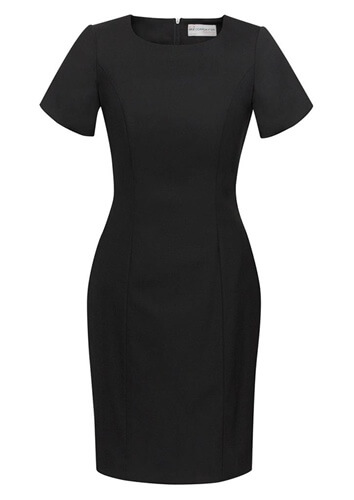 BC Ladies Wool Stretch Shift Dress 34012 2