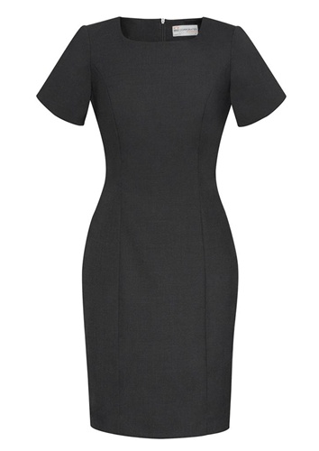 BC Ladies Wool Stretch Shift Dress 34012 4