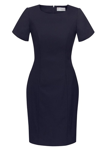 BC Ladies Wool Stretch Shift Dress 34012 3