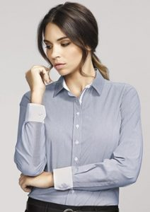BC Fifth Ave Ladies Long Sleeve Shirt 40110