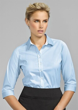 BC Fifth Ave Ladies 3/4 Sleeve Shirt 40111