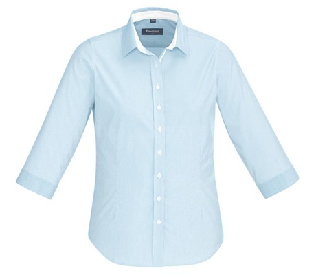 BC Fifth Ave Ladies 3/4 Sleeve Shirt 40111 3