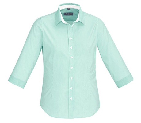 BC Fifth Ave Ladies 3/4 Sleeve Shirt 40111 4