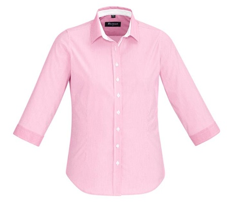 BC Fifth Ave Ladies 3/4 Sleeve Shirt 40111 5