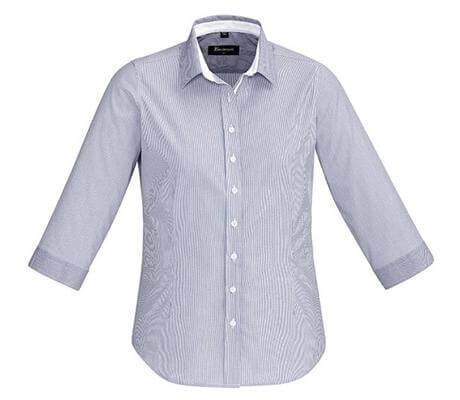 BC Fifth Ave Ladies 3/4 Sleeve Shirt 40111 2