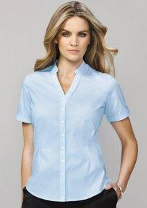 BC Bordeaux Ladies Short Sleeve Shirt 40112