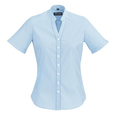 BC Bordeaux Ladies Short Sleeve Shirt 40112 3