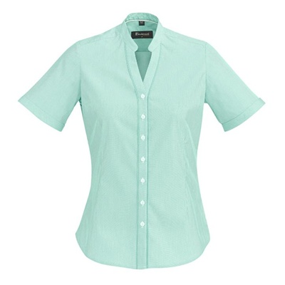 BC Bordeaux Ladies Short Sleeve Shirt 40112 4