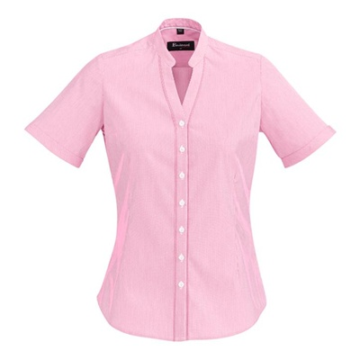 BC Bordeaux Ladies Short Sleeve Shirt 40112 5