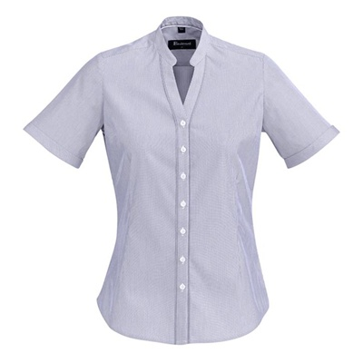 BC Bordeaux Ladies Short Sleeve Shirt 40112 2
