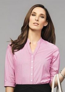 BC Bordeaux Ladies 3/4 Sleeve Shirt 40114