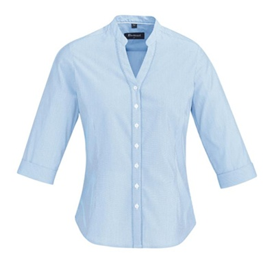 BC Bordeaux Ladies 3/4 Sleeve Shirt 40114 3